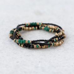 Stone Bead Wrap Bracelet in VALENTINE'S+GIFTS Valentine's Day Jewelry Under $250 at Terrain