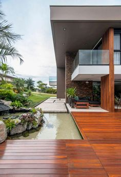 Luxurious architecture projects around the world for your inspiration. Outdoor Rooms, Outdoor Living, Outdoor Decor, Design Exterior, Hobby House, My Dream Home, Interior Architecture, Chinese Architecture, Futuristic Architecture