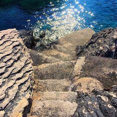 Stairs, Sun & Sea    #bay #beautiful #sea #sun #stairstothesea #croatia #love #summer #adriatic #coast #energy #spirit #hrvatska #rocks #nature #inspiration #enjoy #blog #vacation #travel #globetrotter #holiday #instatravel #sunday #lifestyle #inlove #paradise #stairs #adriaticsea #blogger
