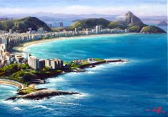 Painting (100 X 70 Cm) - Landscape Framing In Oil S / Screen - R $ 1,900.00 in MercadoLibre