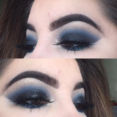 """234 Likes, 3 Comments - @cassxglitter on Instagram: """"Something new matte vs glossy smokey eye (brands will be tagged but further details will be on…"""""""