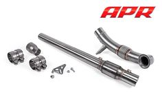 Exhaust : APR Cast Downpipe System for MQB 2.0T/1.8T Vw Golf R Mk7, Investment Casting, Exhausted, It Cast, Racing, Running, Lace