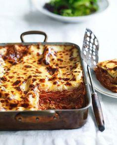 Food : Ten Totally Great Lasagna Recipes  Buffalo mozzarella lasagne recipe
