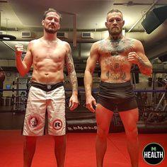 McGregor and Kavanagh Conor Mcgregor Fight, Connor Mcgregor, Notorious Conor Mcgregor, Indian Beauty Saree, Jiu Jitsu, Martial Arts, Hot Guys, Athlete, Fashion Outfits