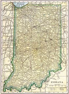Indiana County Map Genealogy Pinterest Genealogy Ancestry - Map of indiana county us census