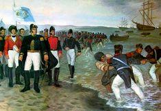 Biografia de José de San Martín  San Martín desembarca en Paracas (1820)