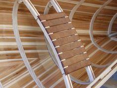 Items similar to Blue boy handmade woodstrip canoe. Beautiful woodworking, abalony inlay, on Etsy Wood Canoe, Wooden Kayak, Canoe Boat, Kayak Boats, Bass Boat, Canoe And Kayak, Canoe Plans, Boat Plans, Wooden Boat Building