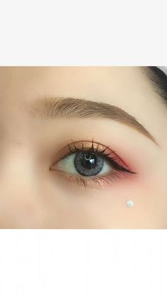 Unique API key is not valid for this user. makeup step by step makeup tutorial makeup natural makeup ideas Prom Eye Makeup, Korean Eye Makeup, Halloween Eye Makeup, Asian Makeup, Hair Makeup, Dewy Makeup, Make Up Looks, Ulzzang Makeup, Make Up Anleitung