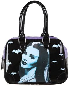 Lily Munster Hand Bag :: Bags & Wallets :: Weird Stuff :: House of Mysterious Secrets - Specializing in Horror Merchandise & Collectibles
