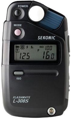 Sekonic SE L308S - Fotómetro, negro B000BTCJNG - http://www.comprartabletas.es/sekonic-se-l308s-fotometro-negro-b000btcjng.html