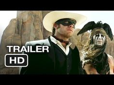 We can't wait for a good western! The Lone Ranger Official Trailer #1 (2013) - Johnny Depp Movie HD  www.behindthetalent.com