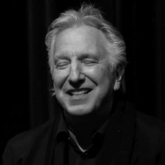 Adorable Guys, Alan Rickman Severus Snape, Silver Foxes, My Heart Hurts, British Actors, Best Actor, Hollywood Stars, I Love Him, Gorgeous Men