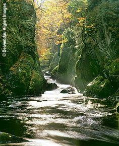 Fairy Glen, Snowdonia National Park. North Wales.