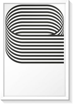 Letter E poster, designed by HeyStudio