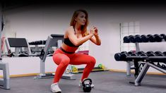 Lift, shape, and tighten your glutes to get a perfect, rounded bottom. The post Are You Up for Trying this Squat Challenge to Get a Firm, Round Butt? appeared first on Skinny Ms. 100 Workout, Squat Workout, Post Workout, Squat Exercise, Daily Exercise Routines, At Home Workouts, Butt Workouts, Best Kettlebell Exercises, Kettlebell Cardio