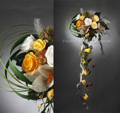 Bouquets de mariées - Bouquets cascade - bouquet Matisse