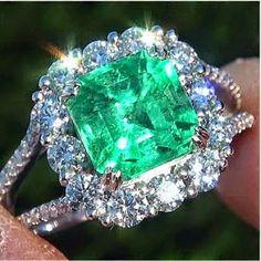❤Diamonds , emerald..