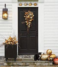 3 Stylish Halloween Front Doors.