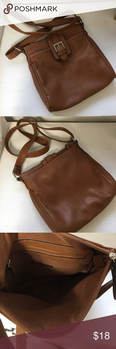 Merona || cognac crossbody bag Details: Super cute cognac crossbody bag. Adjustable strap. Zipper on top.  Perfect for summer or everyday! Great condition!  ❓Questions? Leave me a comment :) ⚡️Fast shipping  💁🏻 Like anything else? Bundle! 🙂 Feel free to make me an offer! Merona Bags Crossbody Bags