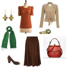 True Autumn Soft Classic, created by mizliz211 on Polyvore