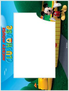 Mickey Mouse Clubhouse: Photo Frames