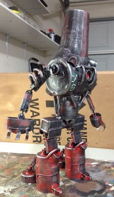 Giant assemblage robot