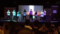 Nuestros alumnos de #Kpop dándolo todo en el escenario de la Japan Weekend.