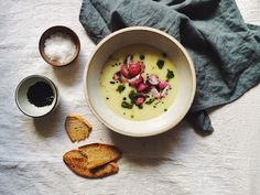 That's Food Darling: KOHLRABI COCONUT SOUP W/ CRISPY ROASTED RADISHES, NIGELLA SEEDS + CILANTRO GREMOLATA