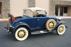 Deluxe Roadster 1931 Ford Model A