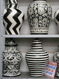 Be Fashion-Forward with Black and White Home Decor | Emilia Ceramics