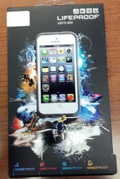 White LifeProof Case  $79.99 -- newest expensive addition to my life. Best boyfrand ever.