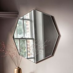 Are you interested in our hexagonal wall mirror? With our Frameless wall mirror you need look no further. Octagon Mirror, Circular Mirror, Black Wall Mirror, Window Mirror, Mirror Mirror, Hallway Mirror, Bedroom Wall Mirrors, Landscape Glass, D 20
