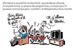 BD - Les ravages de la télé sur la santé collective