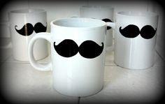 mustache mug :)