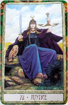 A Justiça – Tarot Druida