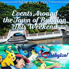 New Blog Post! Link in bioEvents Around the Town of Babylon this Weekend - July 15-17 2016 What are you doing this Weekend? Comment and let us know!  #ilovebabylon #buybabylonlocal  #golocalbabylon #amityville  #babylon #copiague #deerpark #farmingdale #fireisland #gilgo #oakbeach #captree #lindenhurst #northbabylon #westbabylon #wheatleyheights #wyandanch #longisland