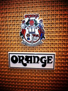 Orange Amplifier, definitely on the list!
