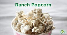 Check out seven delicious and healthy recipes for homemade popcorn seasoning. Ranch, spicy chipotle, parmesan rosemary, matcha sea salt and more. Homemade Popcorn Seasoning, Homemade Popcorn Recipes, Flavored Popcorn, Popcorn Toppings, Seasoning Recipe, Homemade Seasonings, Starbucks Pumpkin Bread, No Salt Recipes, Deserts