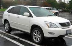 2008 Lexus RX 350 -  my current car.  Chrome wheels, sun roof.  so far....good car.