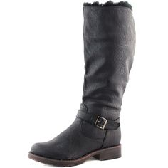 Save 10% + Free Shipping Offer * | Coupon Code: Pinterest10 Material: Man Made Faux Fur Brand: Breckelle's Collection Product Code: Reno-86 Black Women's Breckelle's Reno-86 Black Color Snow Rain Knee High Boots