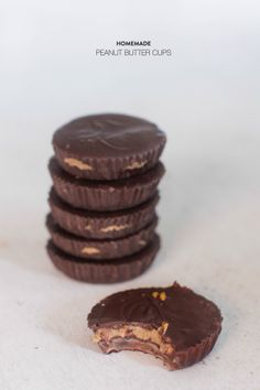 Homemade Peanut Butter Cups  Read more - http://www.stylemepretty.com/living/2013/10/30/homemade-peanut-butter-cups/