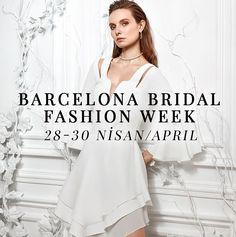 28-30 Nisan tarihleri arasında, Barcelona'da gerçekleşecek Barcelona Bridal Fashion Week'teyiz. #BBFW17 #SS17  We are in Barcelona Bridal Fashion Week between dates April 28-30. Stay tuned!