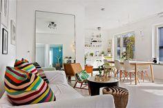 Feel at home with this joyful decor  #interiordesign #decor #brightinterior