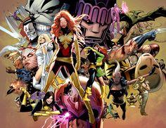 x men villains | Uncanny X-Men: Uncanny X-Men: #500 (2008) - #544 (2011)