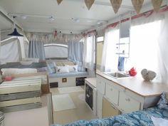 Completed popup camper reno