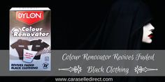 Dylon Colour Renovator Is the Easy & Permanent Way to Revive Your Faded Black Clothing
