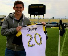 """""""The best midfielders in the world can put a ball anywhere they want, anytime they want. That's something I aspire to do"""" -Wil Trapp Columbus Crew, Soccer, Sports, Hs Sports, Futbol, European Football, European Soccer, Football, Sport"""
