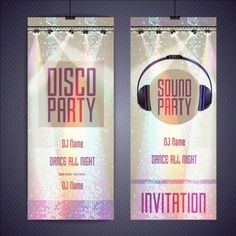Shiny disco party invitation card vector 02 - https://gooloc.com/shiny-disco-party-invitation-card-vector-02/?utm_source=PN&utm_medium=gooloc77%40gmail.com&utm_campaign=SNAP%2Bfrom%2BGooLoc