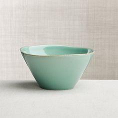 Marin Aqua Cereal Bowl | Crate and Barrel