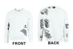 Lady Gaga Tattoo Shirt Sweatshirt